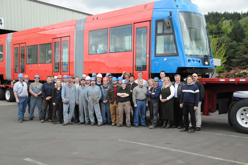 Oregon Iron Works Streetcar