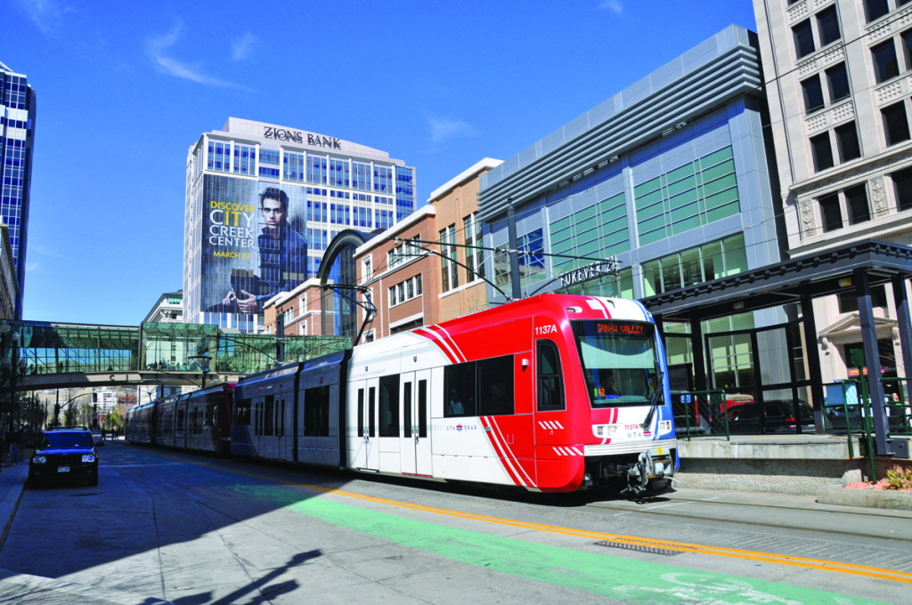 Salt Lake City's light rail, bus and commuter rail systems have been expanded with funding from a 2007 voter-approved sales tax, which won by a two-thirds majority