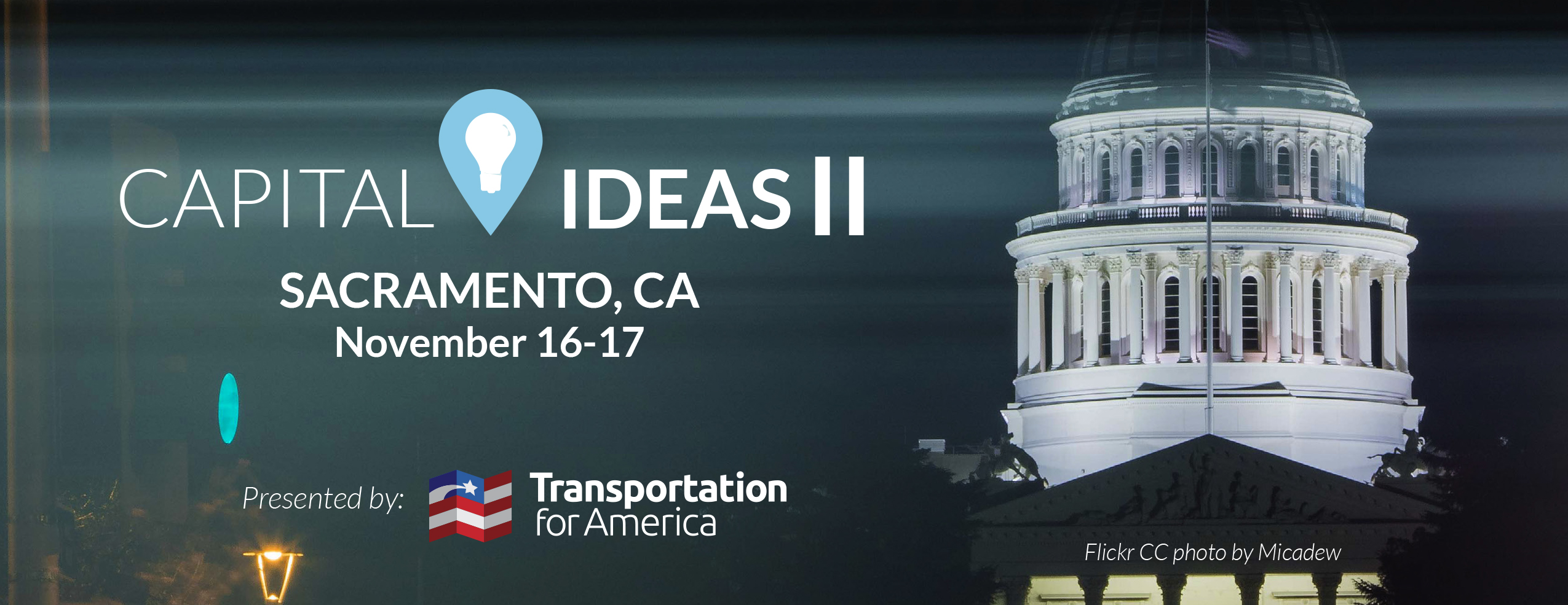 Capital Ideas banner sacramento promo