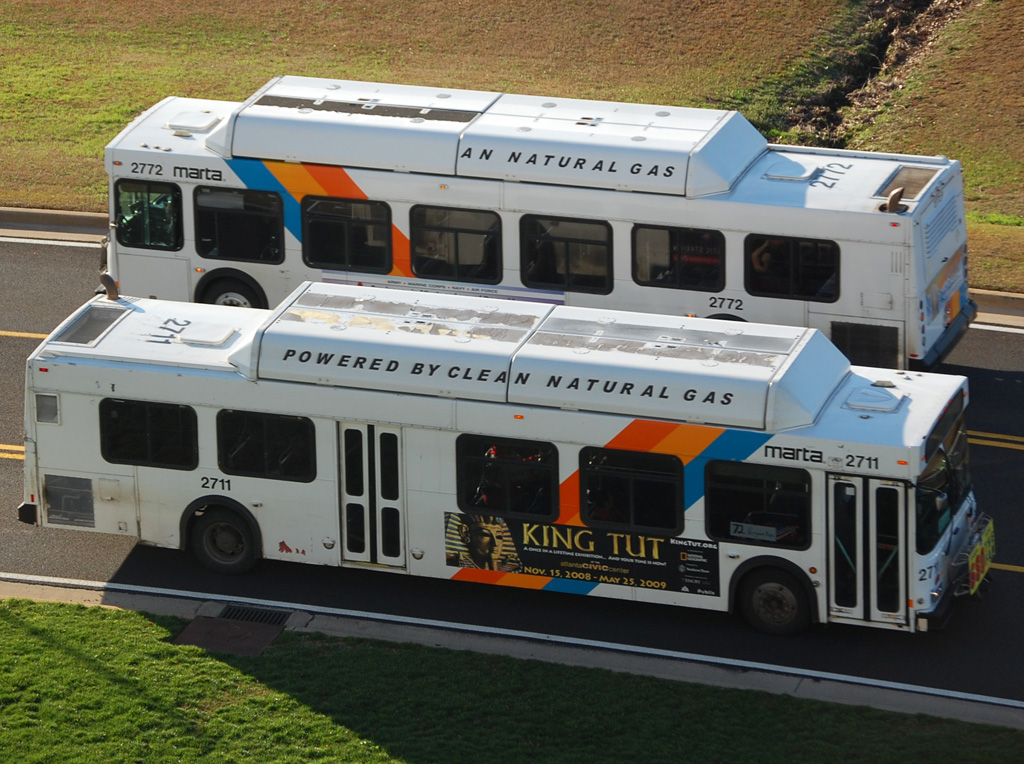 Clayton County voters will decide a one-percent sales tax on Nov. 4 that will bring them into the MARTA system and bring bus service into the county. Flickr photo by James Williamor.