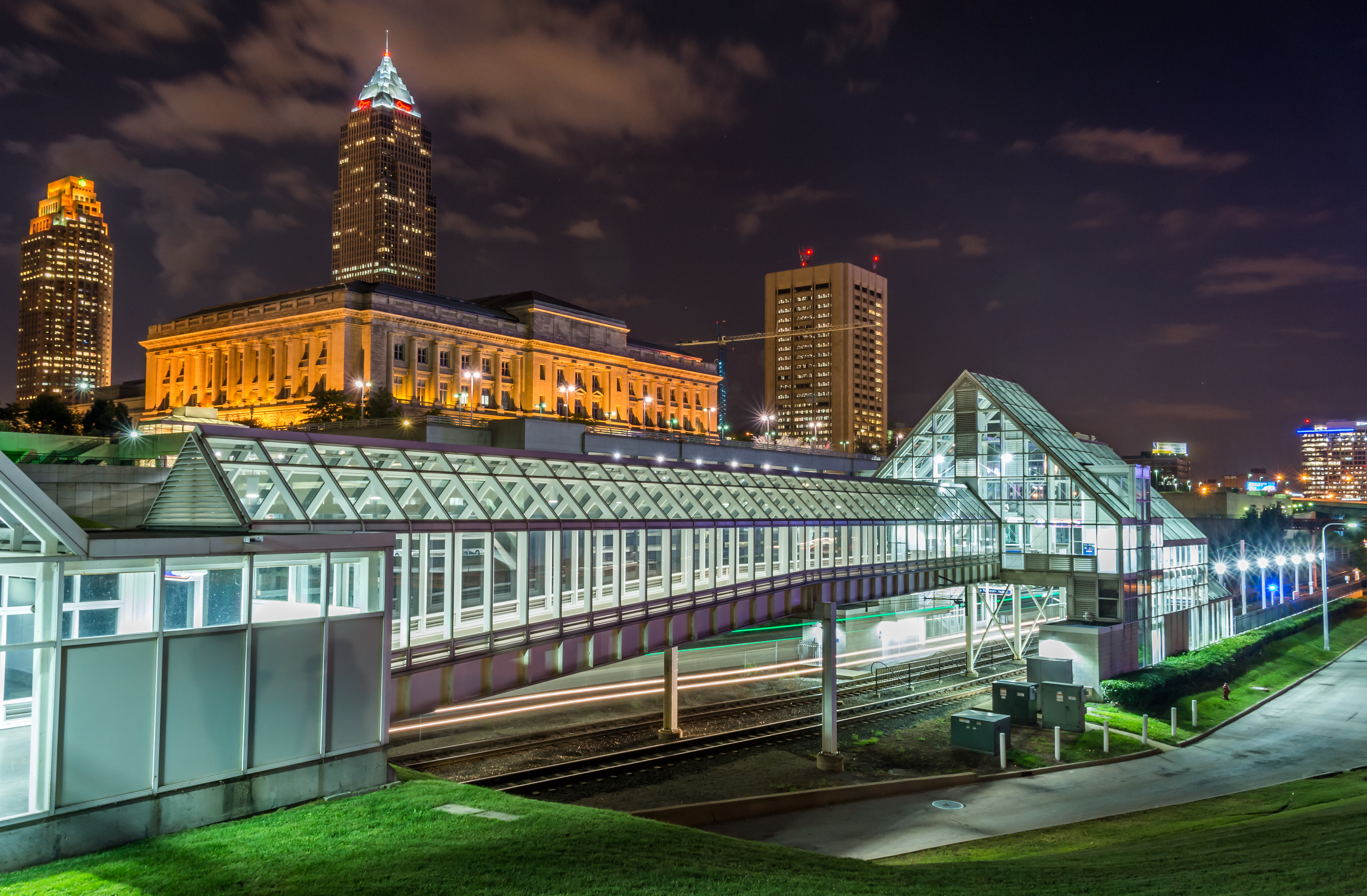 North Shore Station in Downtown Cleveland.