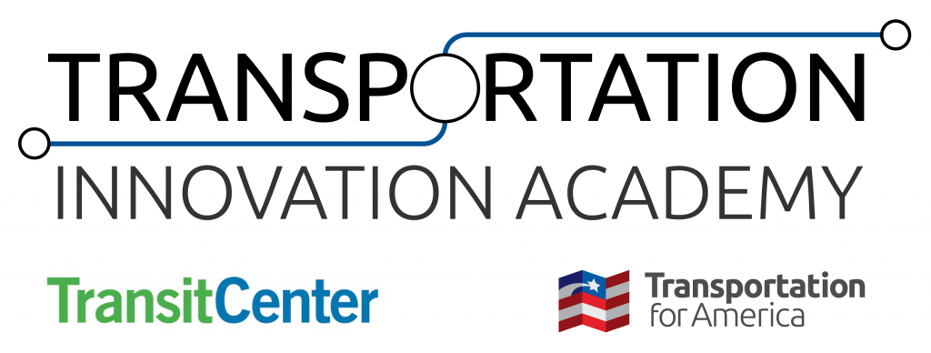 Transportation Innovation Academy with logos