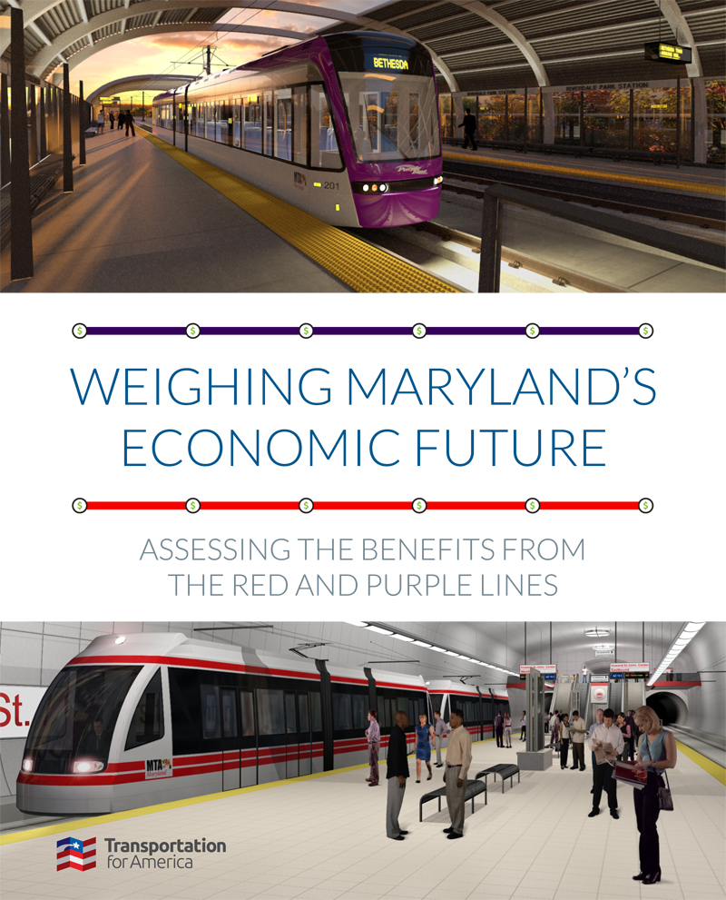 Maryland Transit Report cover