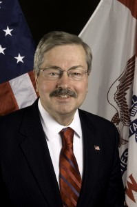 Iowa Governor Terry Branstad.