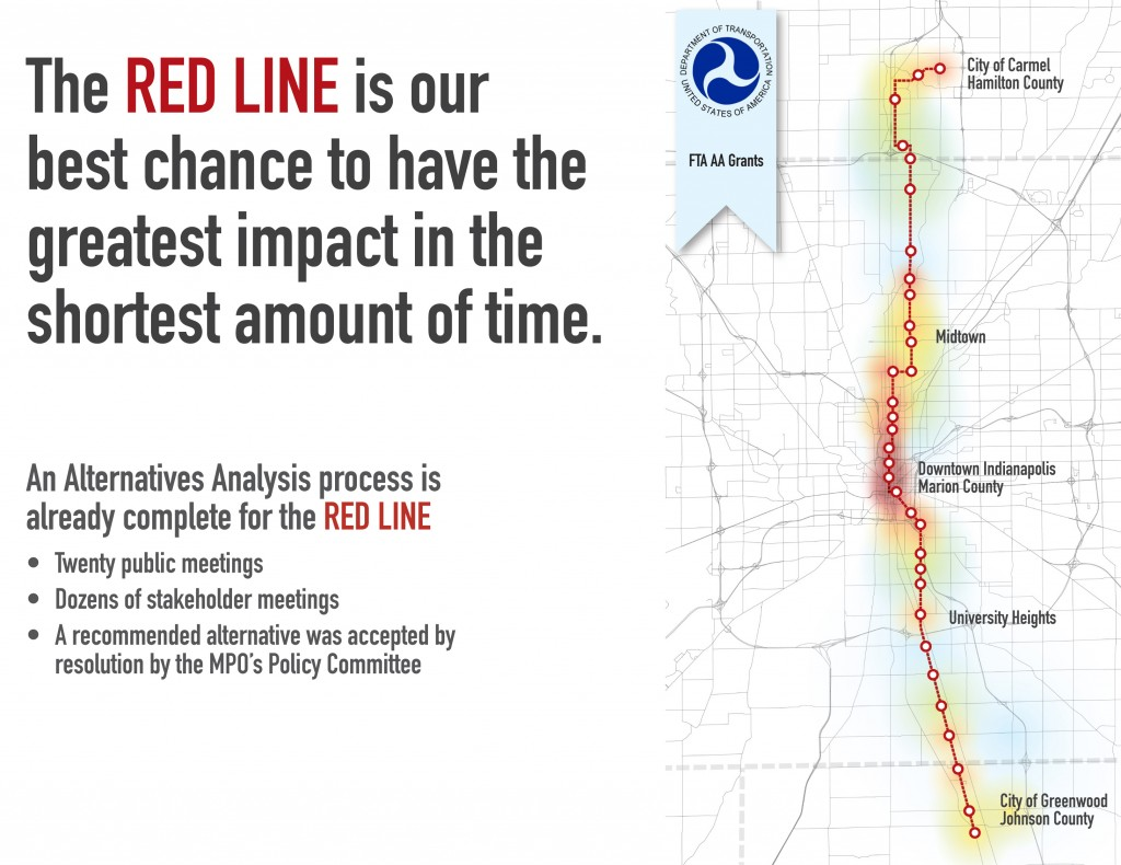 Red Line Indy slide