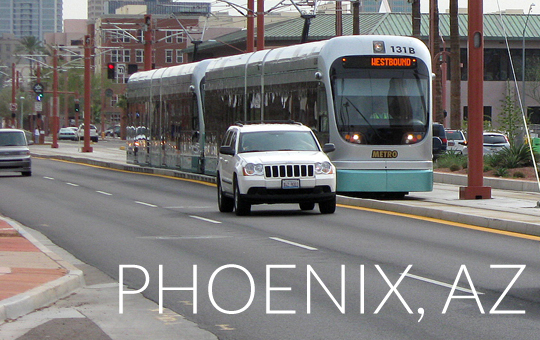 Phoenix: reducing trips to improve air quality