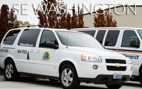 Washington – Using vanpooling to connect rural residents to employers
