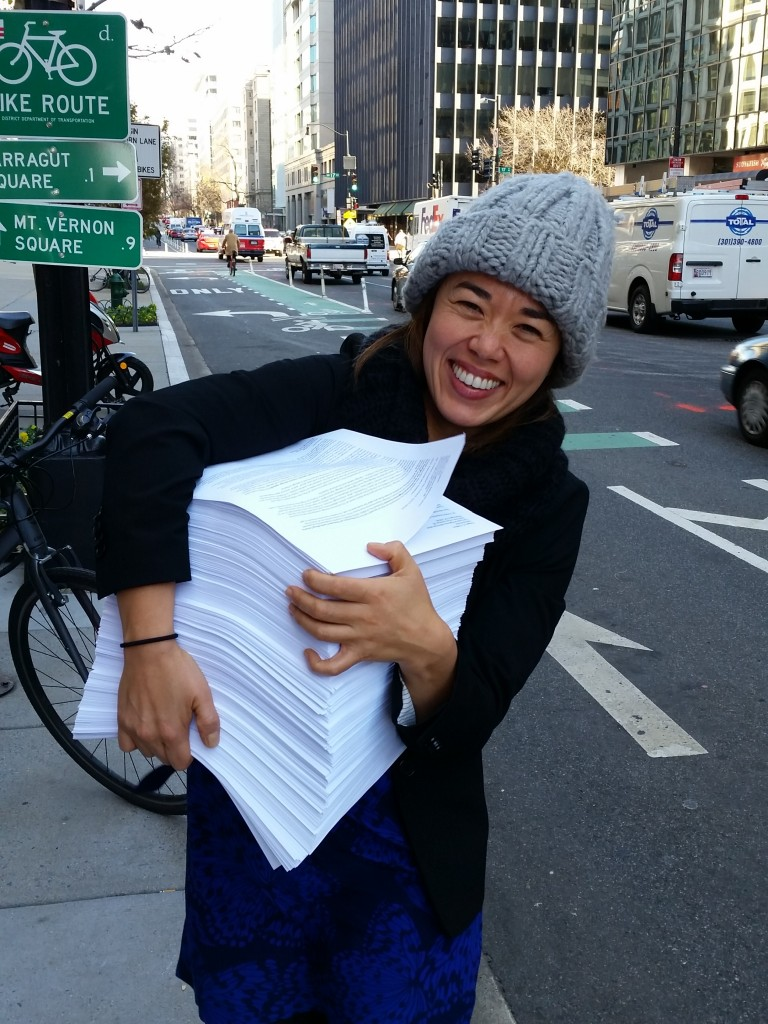Complete Streets director Emiko Atherton
