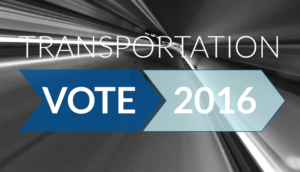 Transportation Vote 2016