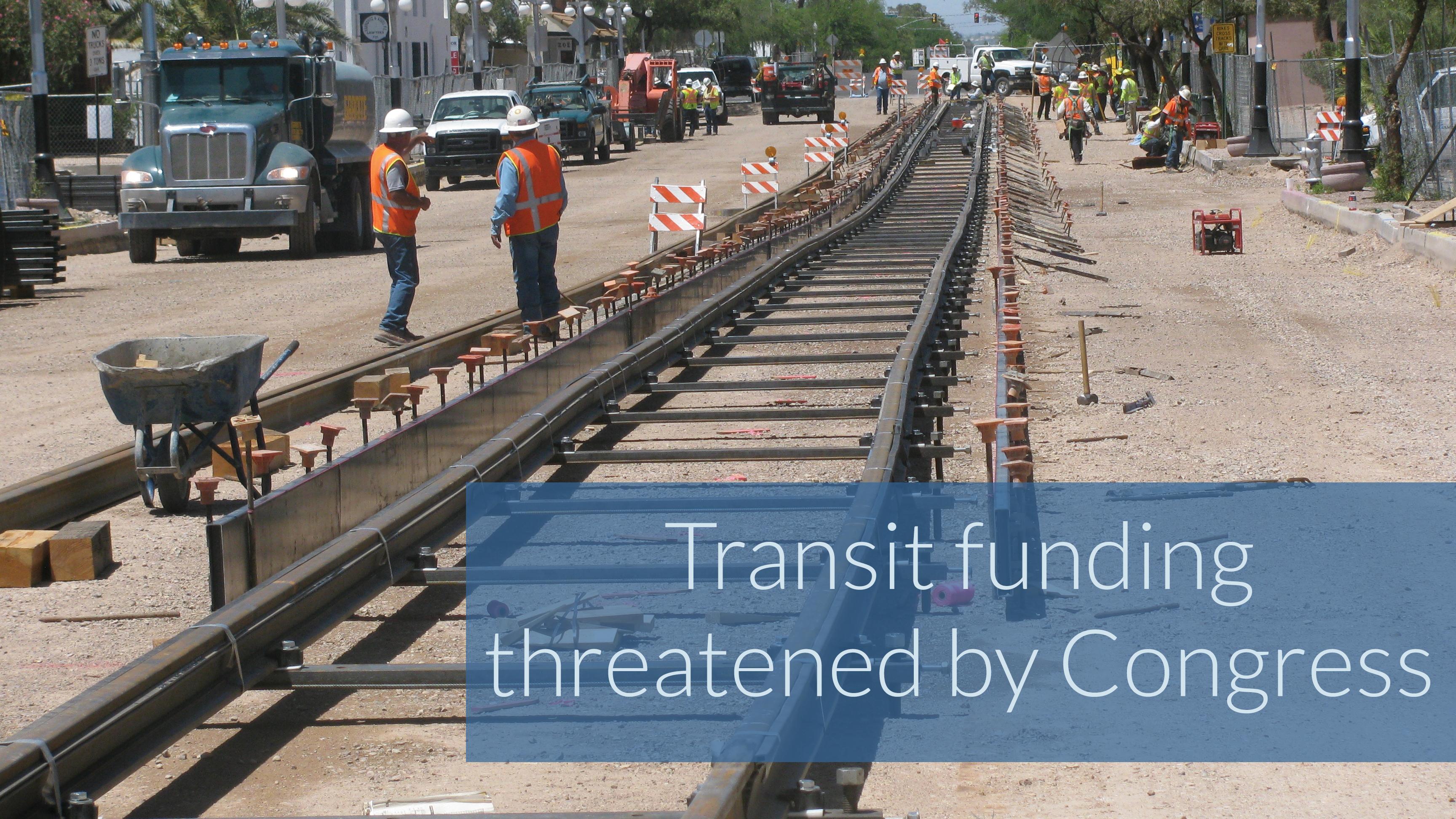 Federal transit funding threatened
