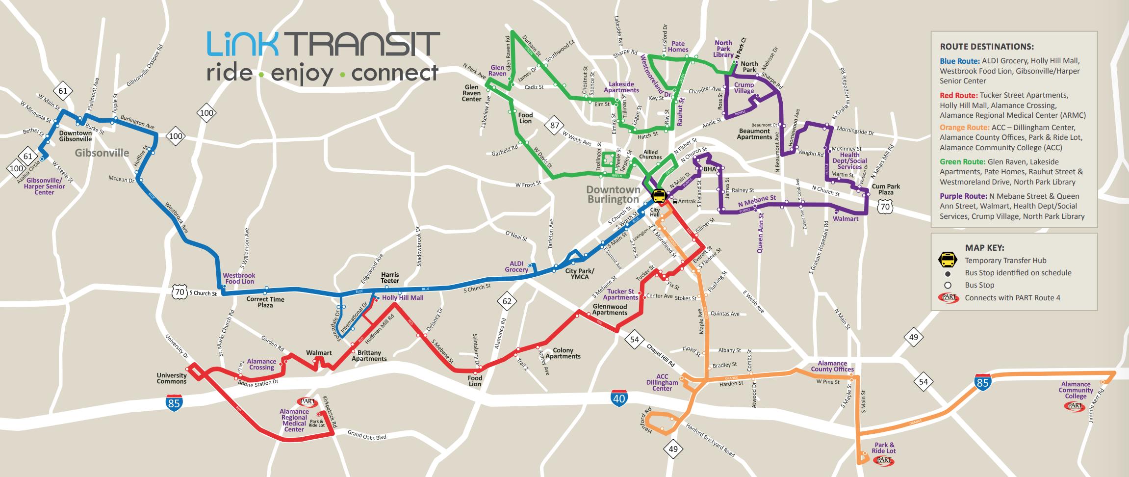 Transportation For America – Burlington, North Carolina