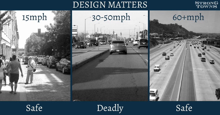 Transportation For America Competition: Which street is the most  dangerously-designed? - Transportation For America