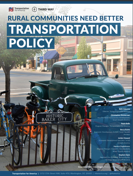 Cover of Rural Transportation Policy report